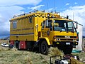 Civil Defence communications truck Mt Allan fire, NZ 2010.jpg