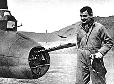 Clark Gable with 8th AF in Britain, 1943