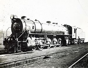 South African Class 15C 4-8-2 - Class 15C Big Bill as delivered, c. 1925
