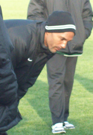 Claude Anelka - Anelka in 2010 as manager of AC St Louis