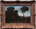 Claude Gellée, Le Lorrain - Pastoral Landscape with a Mill - LACMA - with frame.JPG