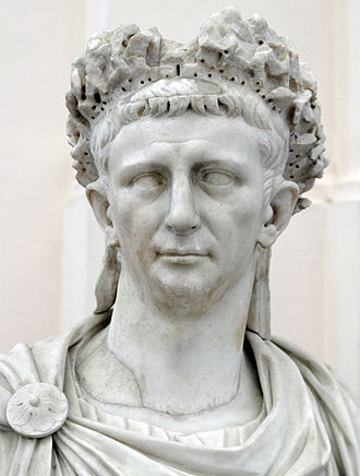 Claudius - Bust of Claudius at the Naples National Archaeological Museum
