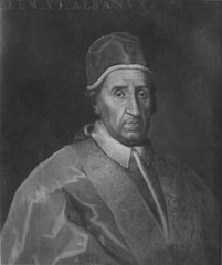 Portrait of Pope Clement XI