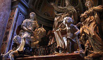 Pope Clement X - Tomb of Clement X, St. Peter's Basilica