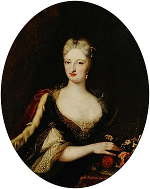 Maria Giovanna Clementi - Image: Clementi Anne Christine of Sulzbach, Palazzo Madama