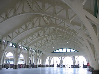 Clifford Pier - Clifford Pier's roof structure