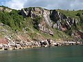 Cliffs above Redgate Beach - geograph.org.uk - 866510.jpg