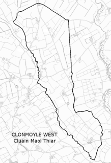 Clonmoyle West Place in County Cork, Ireland