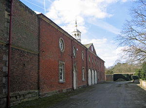 Listed buildings in Peover Superior - Image: Coach House, Peover Hall