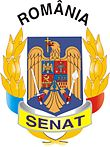 Description de l'image  Coat of arms of the Senate of Romania.jpg.