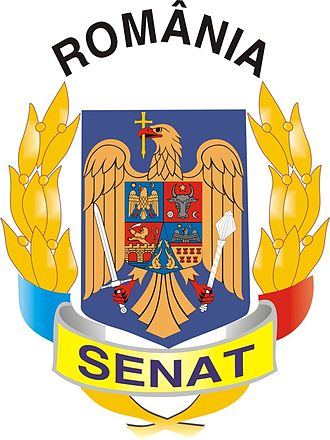 Senate of Romania - Image: Coat of arms of the Senate of Romania