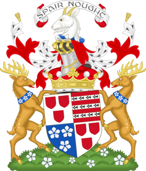 Marquess of Tweeddale - Image: Coat of arms of the marquess of Tweeddale