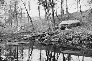 Cobbs Creek - Cobbs Creek in 1880