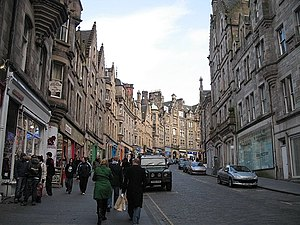 Cockburn Street, Edinburgh - Cockburn Street
