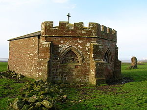 Cockersand Abbey - The chapter house