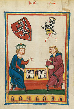 Codex Manesse 262v Herr Goeli
