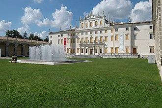 Villa Manin - Main façade of the Villa Manin