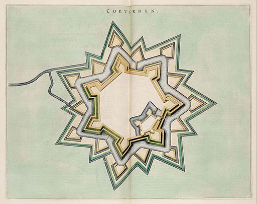Coeverden - Map of Coevorden (Atlas van Loon)