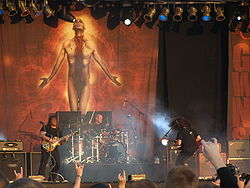 I Coheed and Cambria live al Wacken Open Air 2009.