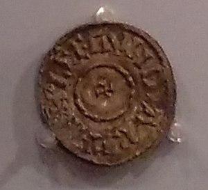 Plegmund - Coin of Plegmund in the Ashmolean Museum, Oxford