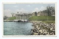 Cole's Hill, First Burial Place of the Pilgrims, Portico over Plymouth Rock, Plymouth Rock House, Plymouth, Mass (NYPL b12647398-74595).tiff
