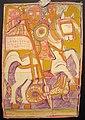 Colección Miguel Gallés Icono etíope soporte cartón San Jorge XX (34x23).JPG