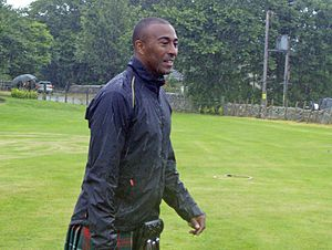 Colin Jackson - Jackson at the 2007 Highland Games