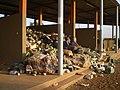 Collected plastic material as raw material - Matière plastique collecté comme matière première (3266515969).jpg