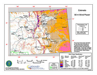 Wind power in Colorado