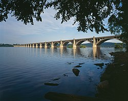 Columbia-Wrightsville Veterans Memorial Bridge