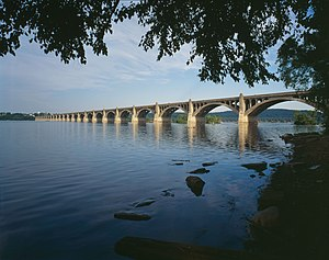 Columbia, Pennsylvania - Columbia-Wrightsville Veterans Memorial Bridge