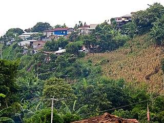 Comasagua Municipality in La Libertad, El Salvador