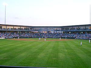 CommunityAmerica Ballpark - View from center field