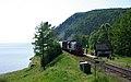 Commuter train of Circum-Baikal Railway, TEM2-5419 (32153135131).jpg