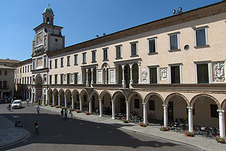Crema, Lombardy - Town Hall on the Piazza Duomo