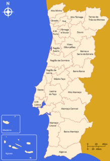 Intermunicipal communities of Portugal