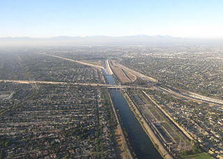 San Gabriel River (California) river in Los Angeles County, California, United States
