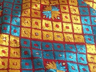 Phulkari Folk embroidery of the Punjab