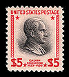 A 1938 definitive stamp