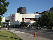 Copps Coliseum, York Boulevard, looking East