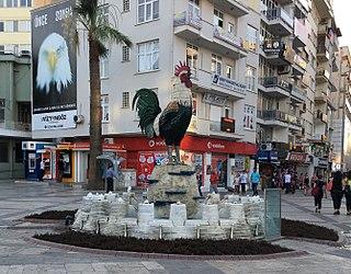 Denizli Metropolitan municipality in Aegean Region, Turkey