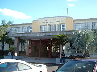 Coral Gables Senior High School public secondary school in Coral Gables, Florida, USA