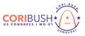 Cori Bush 2020 salmon purple logo.png