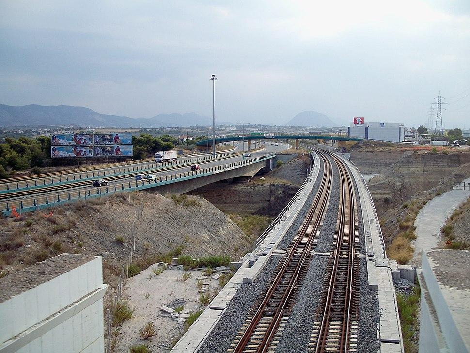 Corinth Isthmus rail road bridge