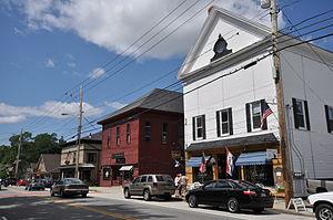 Cornish, Maine - Downtown Cornish