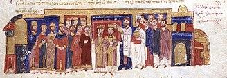 Constantine IX Monomachos - Coronation of Constantine IX