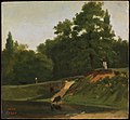 Corot - Banks of the Stream near the Corot Property, Ville d'Avray, ca. 1823, R19.jpg