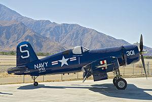 Palm Springs Air Museum - Goodyear FG-1D Corsair