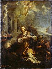 Saint Martina calling down Lightning on the Idol