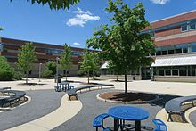 Courtyard, Lincoln-Sudbury Regional High School, Sudbury MA.jpg